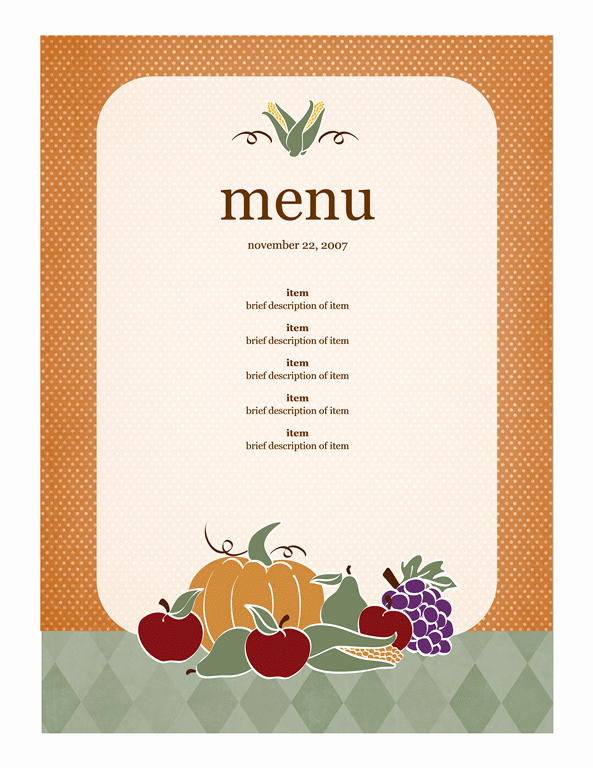 Free Menu Template Microsoft Word Fresh Menu Template Word