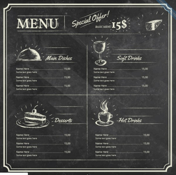 Free Menu Template Microsoft Word Lovely top 30 Free Restaurant Menu Psd Templates In 2018 Colorlib