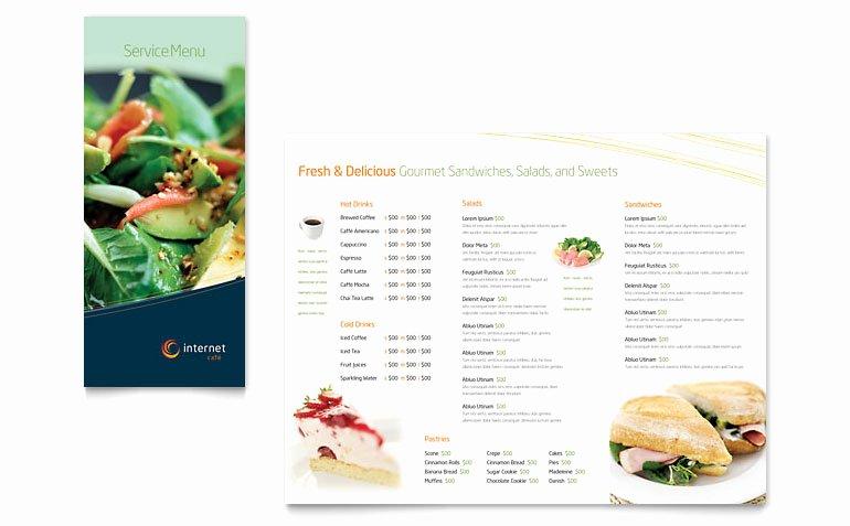 Free Menu Template Word Beautiful Free Restaurant Menu Template Download Word & Publisher