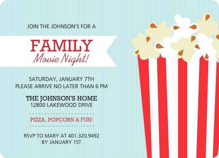 Free Movie Night Flyer Template Fresh Family Movie Night Flyer Template