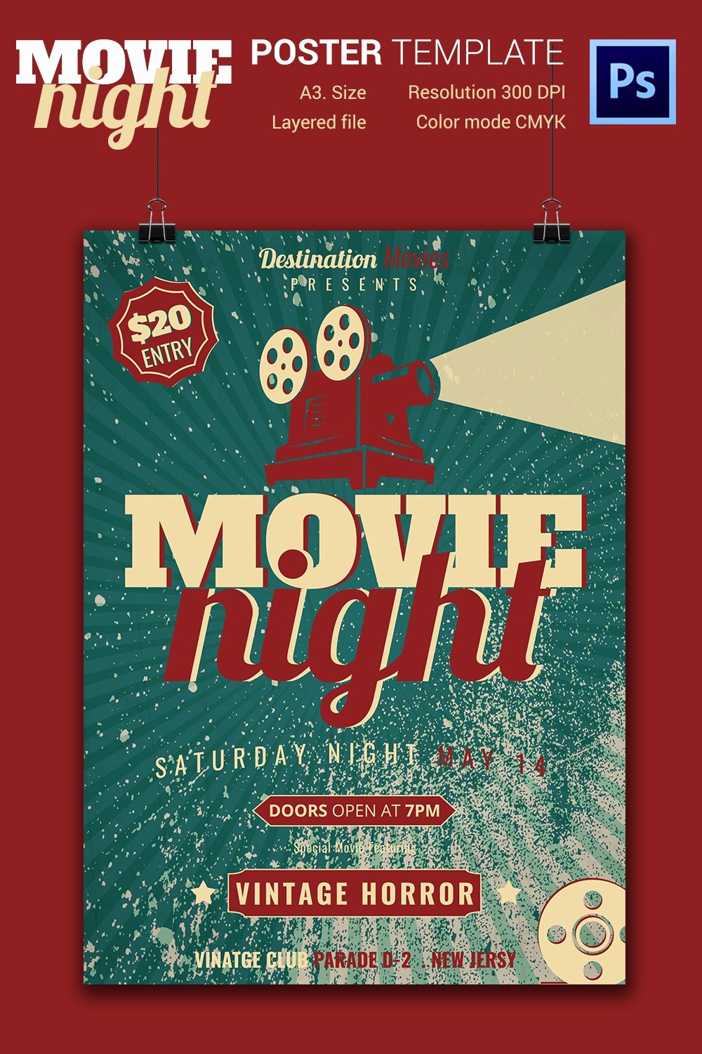 Free Movie Night Flyer Template Inspirational Movie Night Flyer Template 25 Free Jpg Psd format