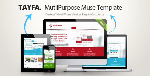 Free Muse Website Template Awesome 45 Best Adobe Muse Templates Free & Premium Download