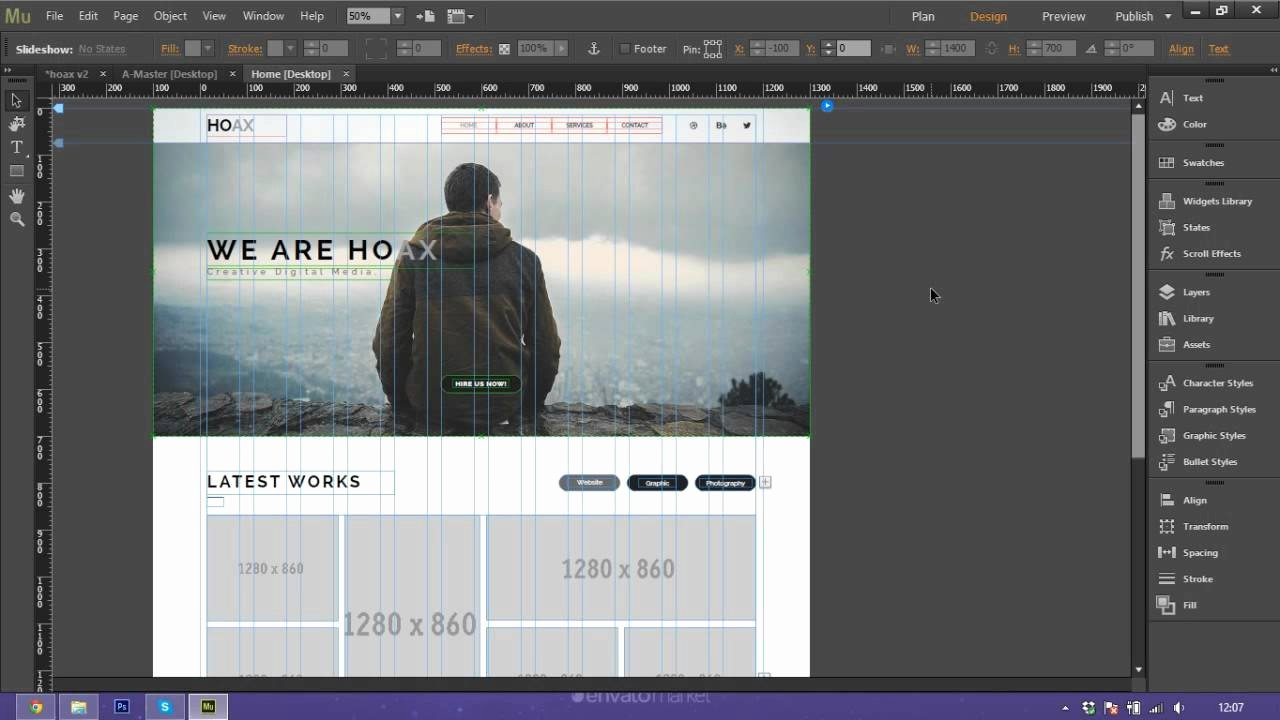 Free Muse Website Template Awesome How to Use and Customize Adobe Muse Template Hoax