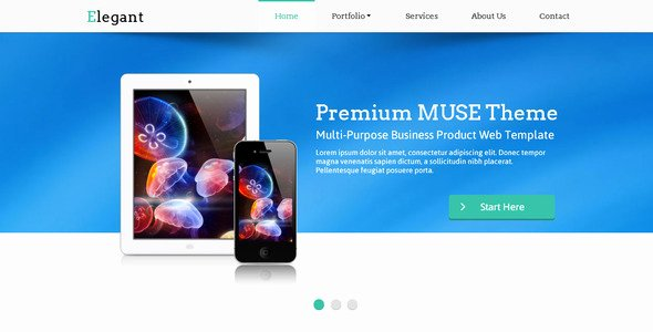 Free Muse Website Template Beautiful 23 Beautiful Free & Premium Adobe Muse Templates – Design