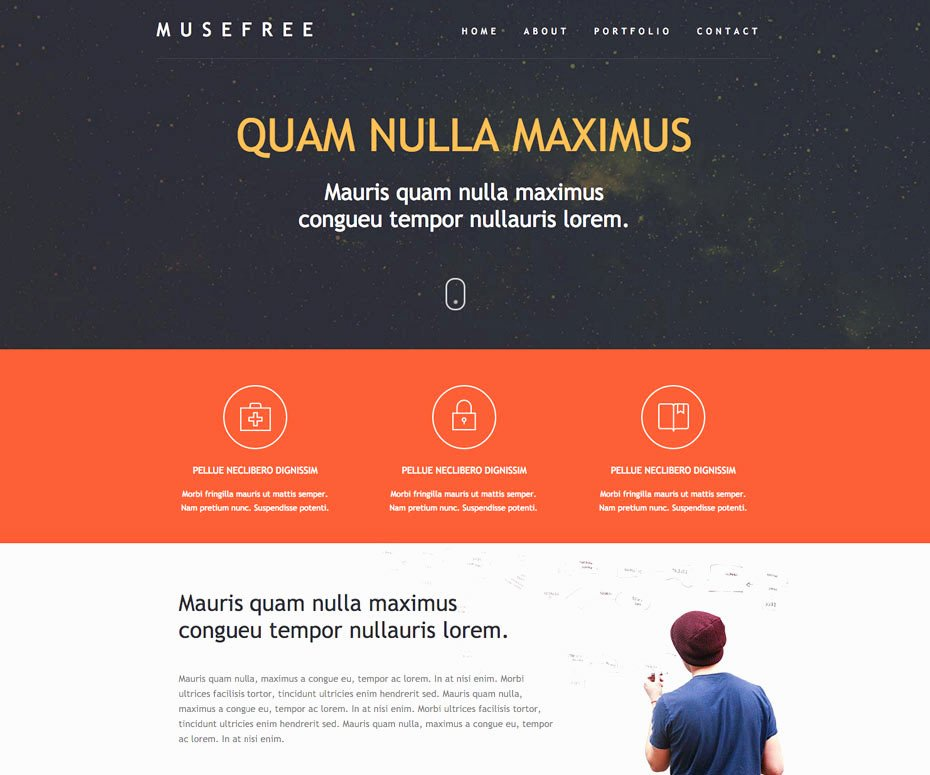 Free Muse Website Template Beautiful 25 Free Muse Templates – Creative Website themes and