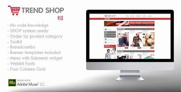 Free Muse Website Template Elegant 20 High Quality Muse Website Templates
