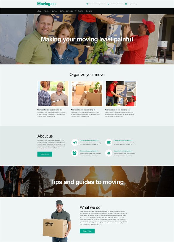 Free Muse Website Template Fresh 34 Transportation Website themes & Templates