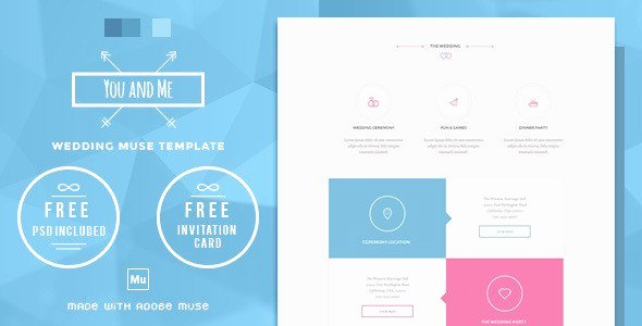 Free Muse Website Template Fresh 50 High Class Premium and Free Adobe Muse Templates