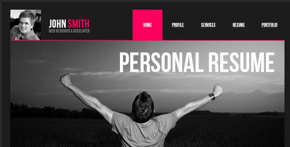 Free Muse Website Template Fresh Personal Resume Muse Web Template by Barisintepe