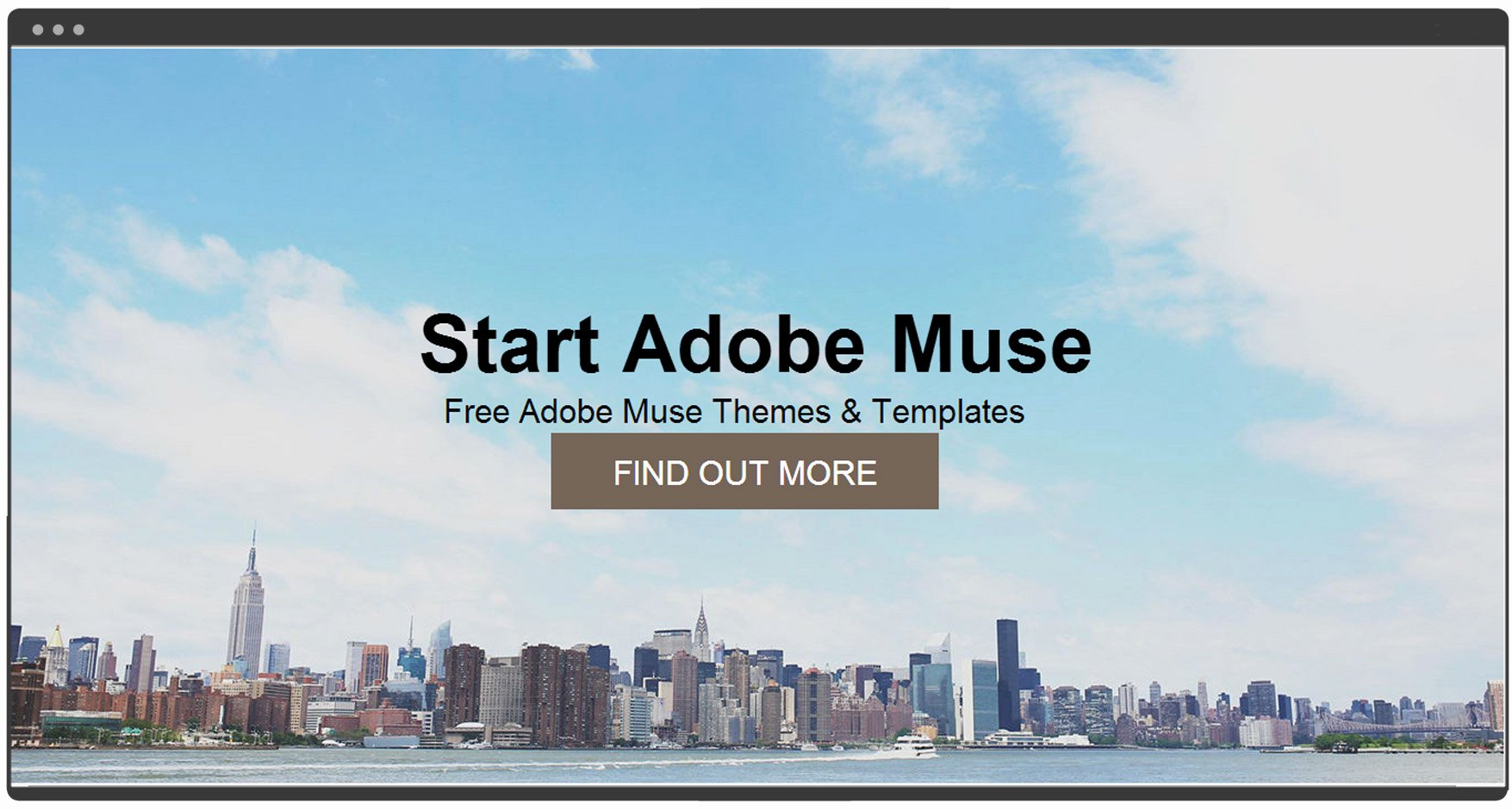 Free Muse Website Template Lovely Start Muse Free Muse Template – Free Adobe Muse Templates