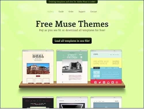 Free Muse Website Template Luxury Adobe Muse Templates Free Condo Financials