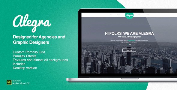 Free Muse Website Template Unique Free and Premium Responsive Adobe Muse Templates