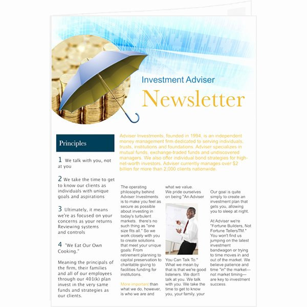 Free Newsletter Template for Publisher Fresh Newsletter Templates & Samples
