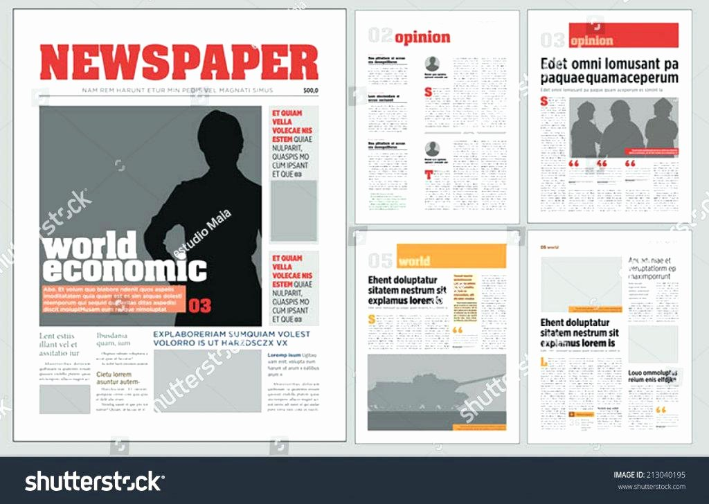 Free Newsletter Template for Publisher Fresh Publisher Newsletter Template Microsoft Newspaper Free