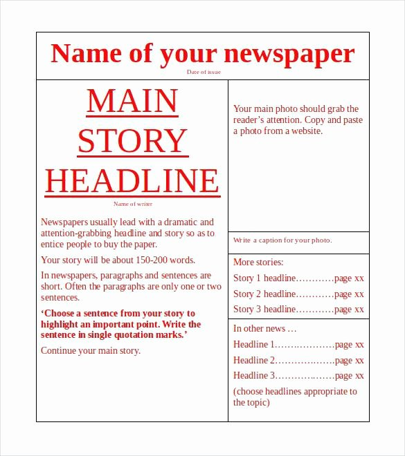 Free Newsletter Template Publisher Awesome Publisher Newsletter Template Microsoft Newspaper Free