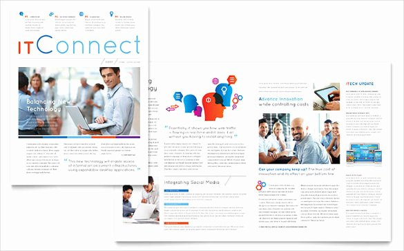 Free Newsletter Template Publisher Beautiful Microsoft Newsletter Template – 8 Free Word Pdf