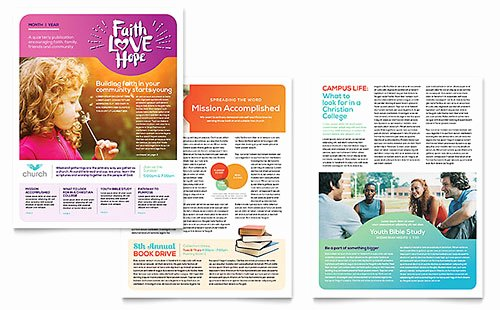 Free Newsletter Template Publisher Inspirational Free Newsletter Template Word & Publisher Templates
