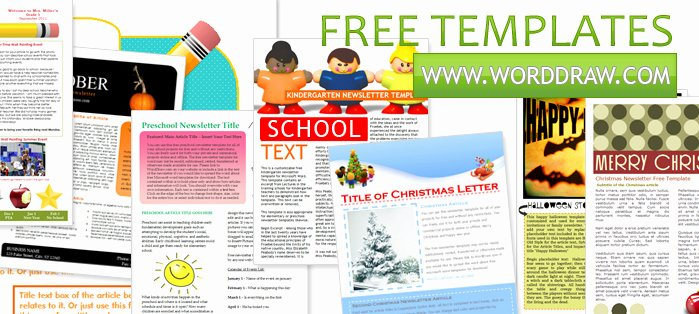 Free Newsletter Template Publisher Luxury 7 Best Of Word Newsletter Templates Free