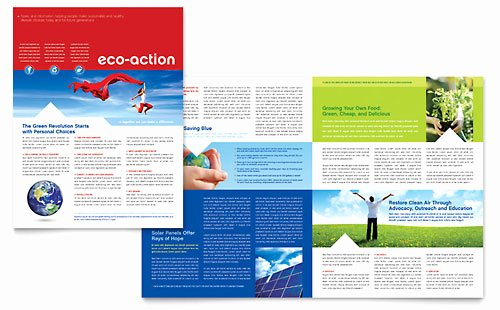 Free Newsletter Template Publisher Unique Energy & Environment Newsletter Templates Word & Publisher