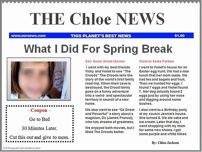 Free Newspaper Template for Students Beautiful Powerpoint Newspaper Templates