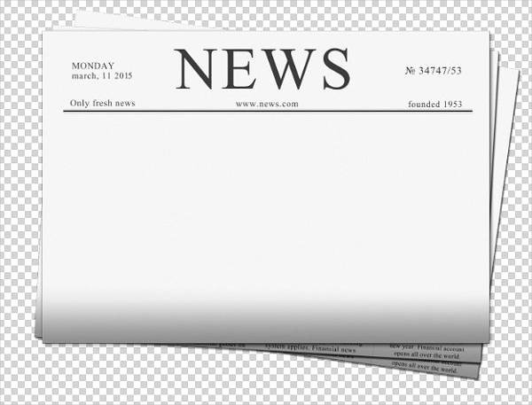 Free Newspaper Template for Students Unique 5 Student Newspaper Templates Word Pdf Psd Indesign