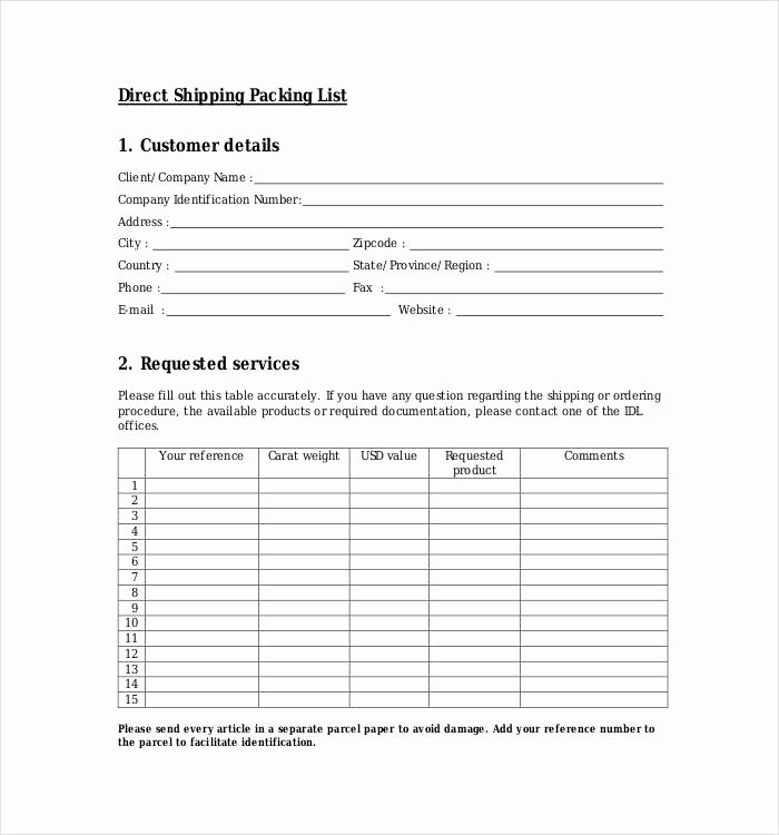 Free Packing List Template Best Of 24 Packing List Templates Pdf Doc Excel