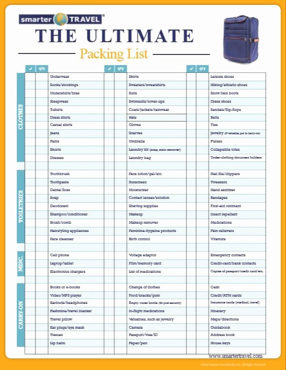 Free Packing List Template Lovely 8 Free Sample Shipping Packing List Templates Printable