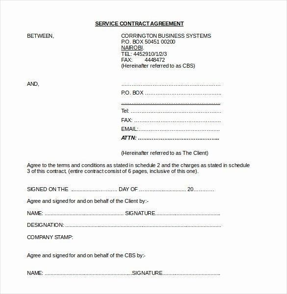 Free Partnership Agreement Template Word Fresh 22 Contract Agreement Templates – Word Pdf Pages