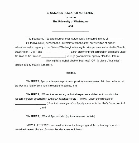 Free Partnership Agreement Template Word Unique Partnership Contract 9 Free Word Documents Download Real