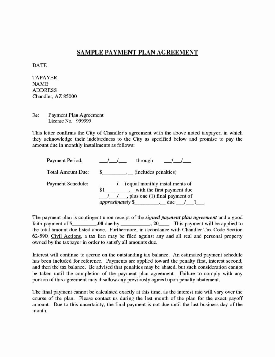 Free Payment Agreement Template Beautiful Payment Agreement 40 Templates & Contracts Template Lab