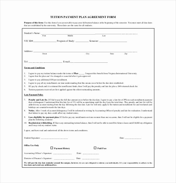 Free Payment Agreement Template Fresh 18 Payment Agreement Templates Pdf Google Docs Pages