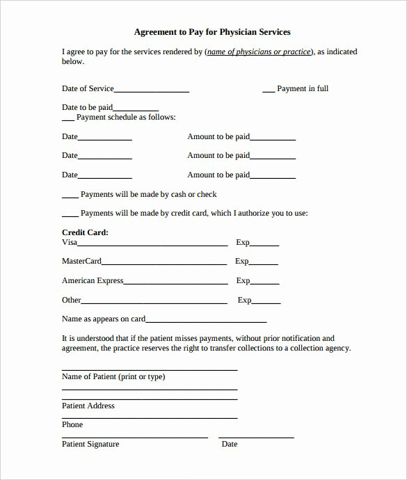 Free Payment Agreement Template Lovely Payment Plan Agreement Template 12 Free Word Pdf