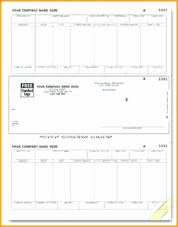 Free Payroll Check Stub Template Unique Free Pay Stub Template with Calculator Paycheck Stubs