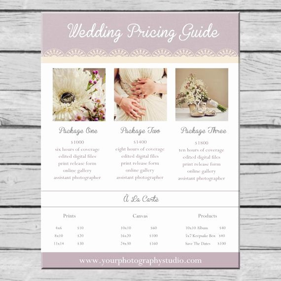 Free Photography Price List Template Best Of Best 25 Wedding Photography Pricing Ideas On Pinterest