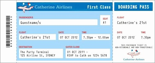 Free Printable Airline Ticket Template Awesome 27 Best Airline Boarding Pass Ticket Template Examples