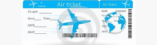 Free Printable Airline Ticket Template Beautiful Ticket Template for Plane Example Of Plane Ticket