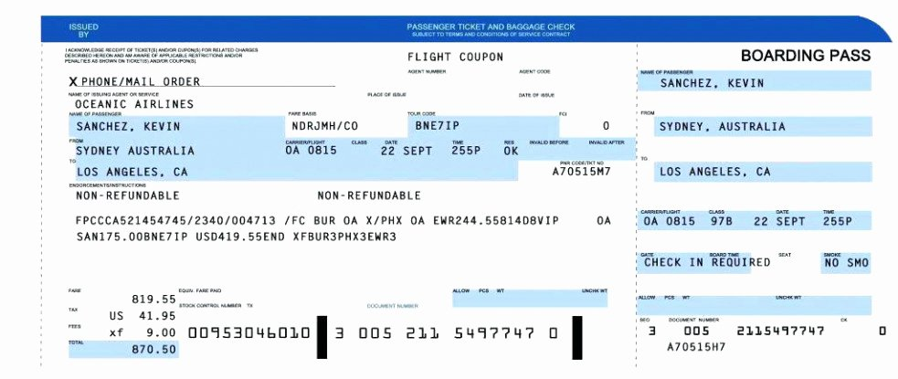 Free Printable Airline Ticket Template Elegant Plane Ticket Invitation Template Free Download Plane