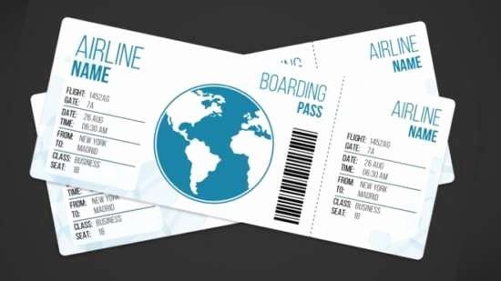 Free Printable Airline Ticket Template New 28 Free Ticket Templates & Psd Mockups Xdesigns