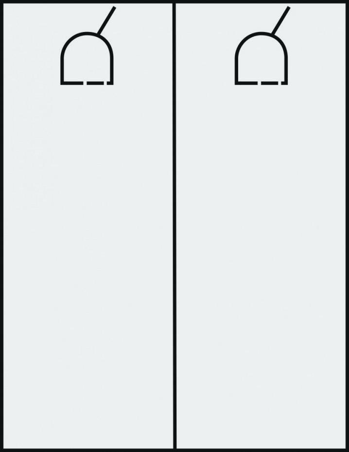 Free Printable Door Hanger Template Beautiful Blank Printable Door Hanger Template Outline Hangers