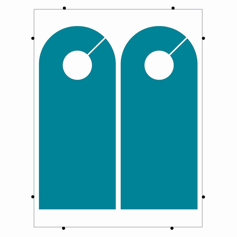 Free Printable Door Hanger Template Elegant Shop Door Vector & Door Hanger Template Shop