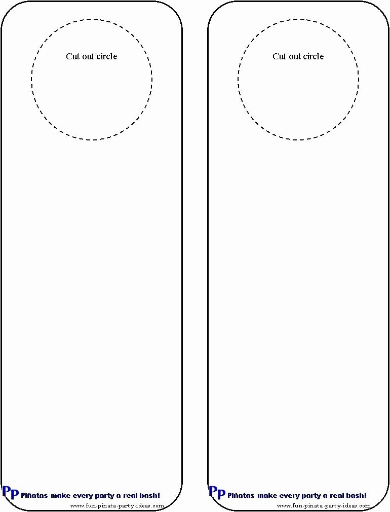 Free Printable Door Hanger Template Luxury Cool Idea for Diy Door Hangers Miscellaneous