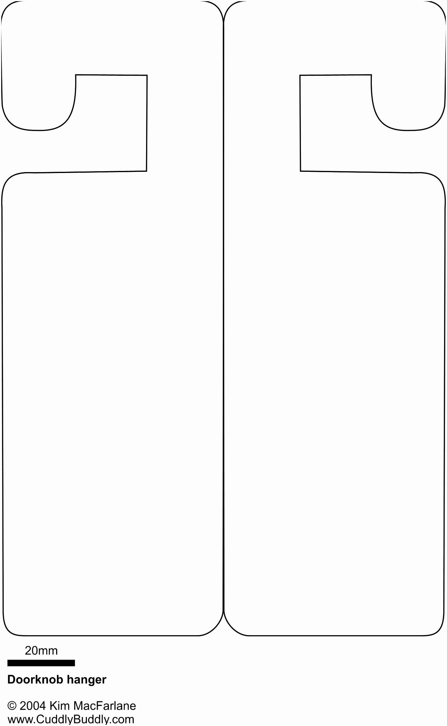 Free Printable Door Hanger Template New Wedding Door Hanger Template Oursearchworld