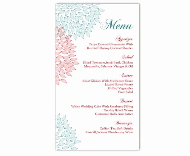 Free Printable Menu Card Template Beautiful Wedding Menu Template Diy Menu Card Template Editable Text