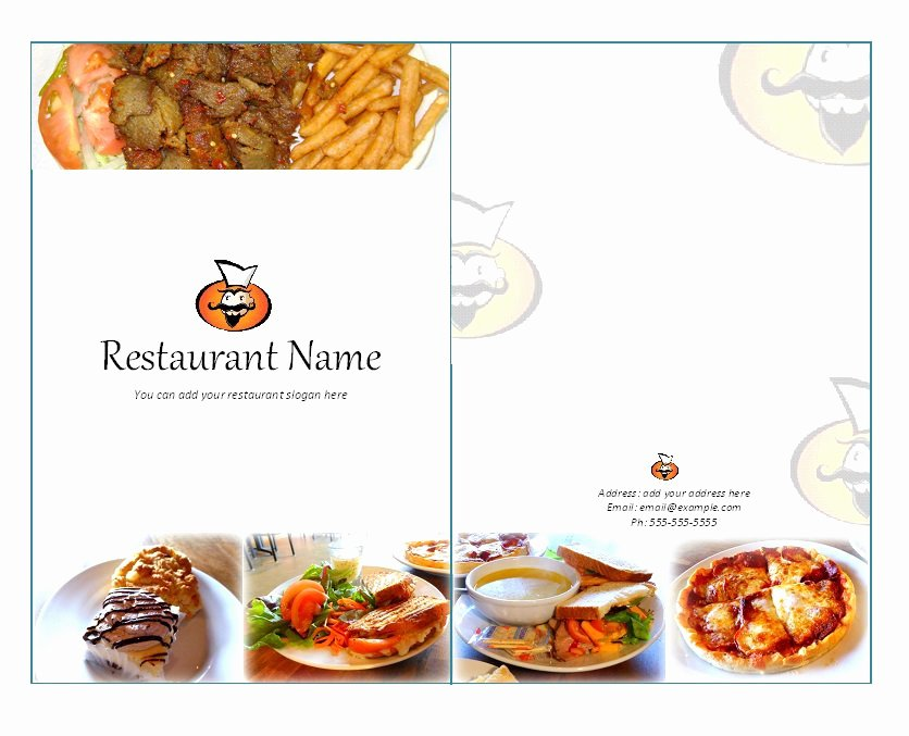 Free Printable Menu Card Template Best Of 31 Free Restaurant Menu Templates & Designs Free