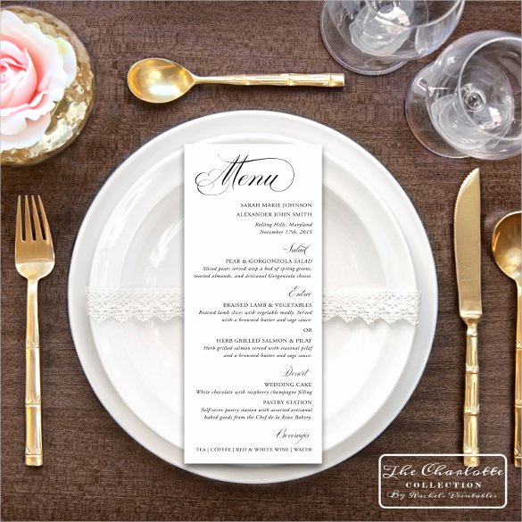 Free Printable Menu Card Template Best Of 47 Menu Card Templates Ai Psd Docs Pages