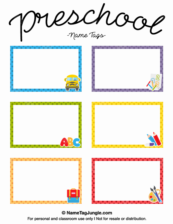 Free Printable Name Badge Template Beautiful Pin by Muse Printables On Name Tags at Nametagjungle