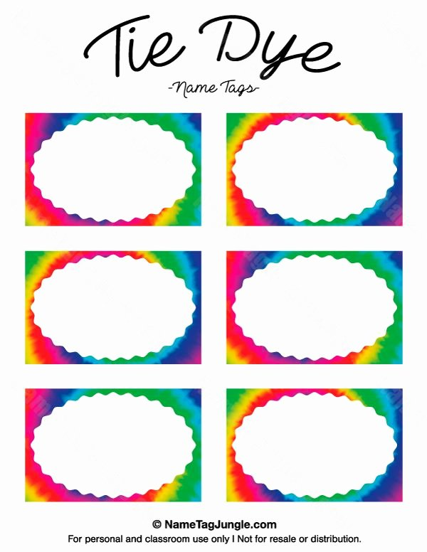 Free Printable Name Badge Template Best Of the 25 Best Name Tag Templates Ideas On Pinterest