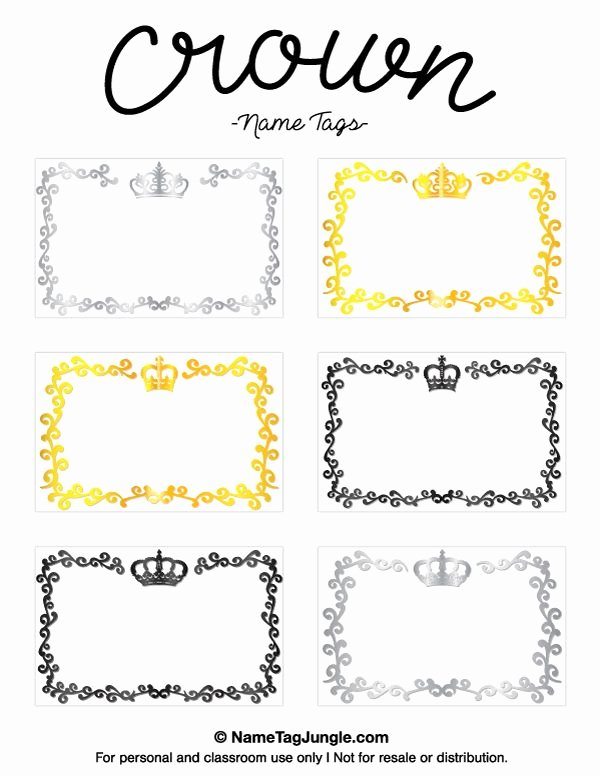 Free Printable Name Badge Template Elegant Pin by Muse Printables On Name Tags at Nametagjungle