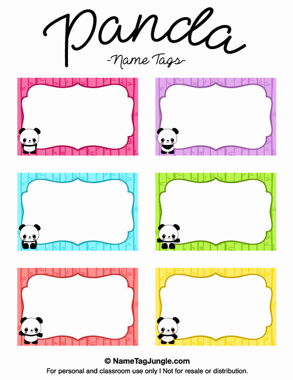 Free Printable Name Badge Template Fresh Pin by Muse Printables On Name Tags at Nametagjungle