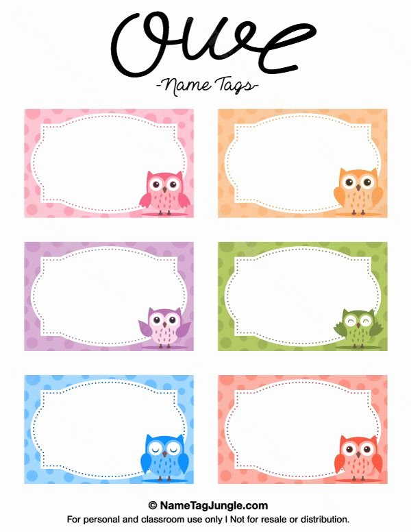Free Printable Name Badge Template Unique Best 25 Printable Name Tags Ideas On Pinterest